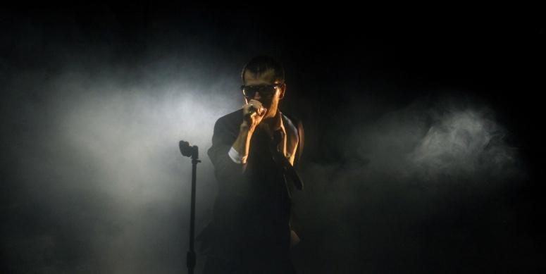 bold rockstar performer